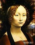 Leonardo da Vinci Planificador Annual 2020: Retrato de Ginebra de Benci   Agenda Semanal   Ideal Para la Escuela, el Estudio y la Oficina   ... Diciembre 2020: 47 (Agenda 2020 Semana Vista)