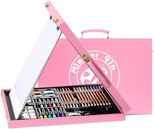 DLDL H erner Kassettengestellpinsel-Anstrich stellte Zeichenstift-Aquarellstift ein (Farbe   Rosa)
