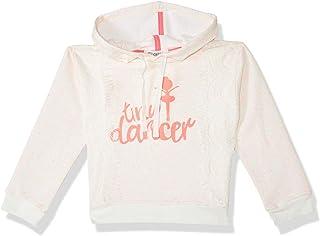 Giggles Printed Long Sleeves Hooded Sweatshirt for Girls