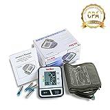 Best LTD Blood Pressure Cuff Wrists - Automatic Upper Arm Blood Pressure Monitor, Large Digital Review
