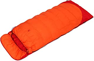 Outdoor Climbing Camping Down Sleeping Bag Envelope Thickening -25 Degree Filling 1500 Grams Of Cashmere Arabyat (Color : 2)