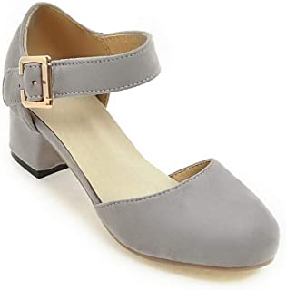 BalaMasa Womens ASL06855 Pu Heeled Sandals