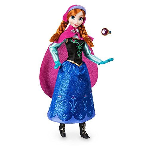 Disney Anna Classic Doll with Ring - Frozen - 11 ½ Inches