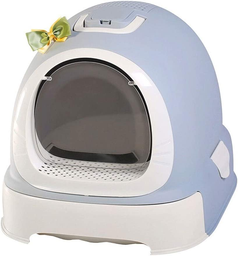 WENMENG2021 Small Litter Box with Bowl Close lid Free shipping Limited time for free shipping on posting reviews Cat Full