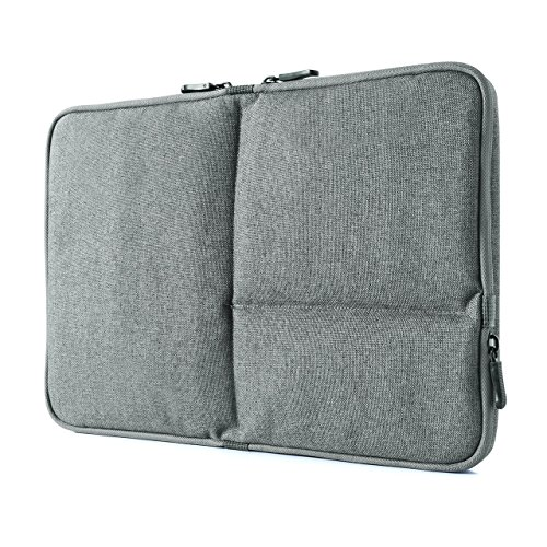 サンワダイレクト インナーケース PC 13.3インチ対応 タブレット収納 小物ポケット グレー 200-IN050GY