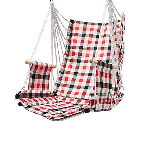 Balançoires YXX Chaise pivotante Suspendue à Usage intensif, capacité de 120 kg, siège de Chaise en hamac pour Cour, Chambre à Coucher, Porche, intérieur/extérieur (Color : Style-2)