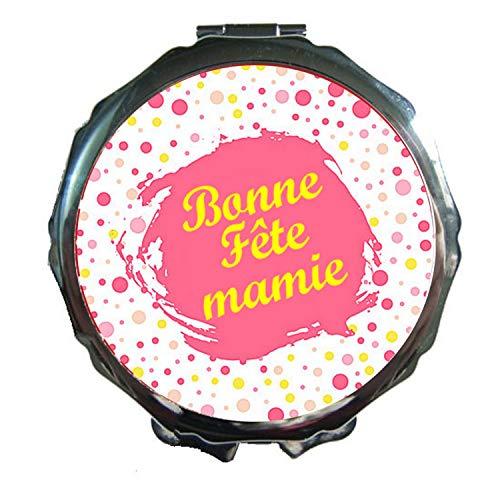 Miroir de Poche Bonne Fête Mamie