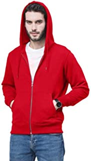 Mens Hoodies long-sleeved casual solid color knit zipper cardigan sweater warm Top