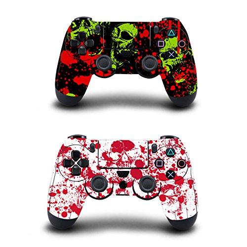 KINGWON Adhesivo para mandos de Playstation 4, 2 unidades