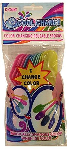 Cool Change Reusable Color Change Spoons