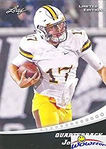 Josh Allen 2018 Leaf Draft #3 Limited Edition FIRST EVER PRINTED ROOKIE Card in MINT Condition Shipped in Ultra Pro Top Loader to Protect It! Awesome Rookie Card of Buffalo Bills Top NFL Pick!