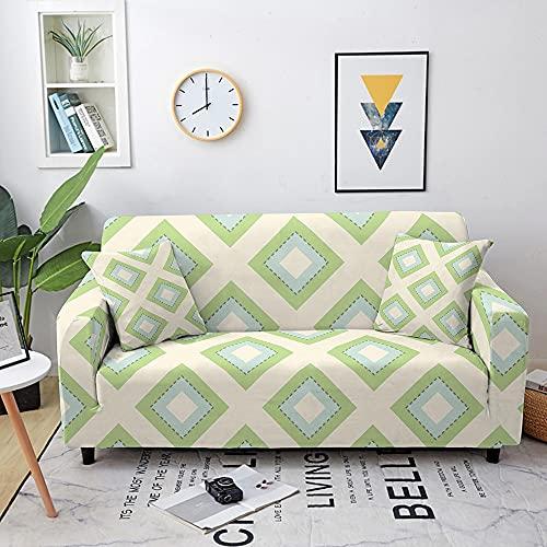 Sofá elástica Cubierta de la Cubierta Spandex Combinación de sofá Funda de sofá 1/2/3/4 Sofá de Esquina de Asiento (Color : Set 18, Specification : 1-Seat 90-140cm)
