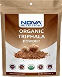 Nova Nutritions Certified Organic Triphala Powder 16 OZ (454 gm) - Supports Healthy Immune & Digestive Function.*