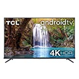 TCL 50EP660 Fernseher 126 cm (50 Zoll) Smart TV (4K UHD, HDR10, Micro Dimming Pro, Android TV, Prime Video, Alexa kompatibel, Google Assistant) Brushed Titanium