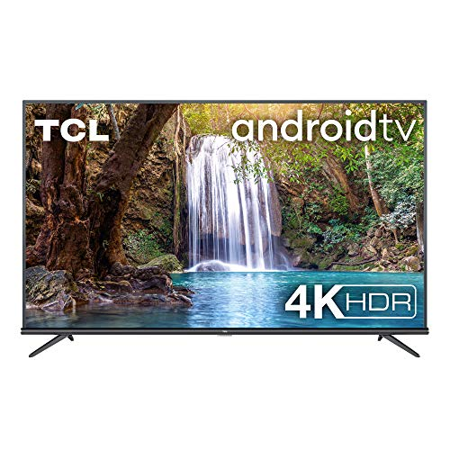 TCL 60EP660 Fernseher 150 cm (60 Zoll) Smart TV (4K UHD, HDR10, Android TV, Micro Dimming Pro, Alexa kompatibel, Google Assistant, Chromecast) Brushed Titanium
