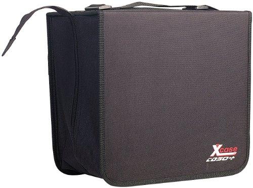 Xcase CD Koffer: CD/DVD/BD-Tasche für 504 CD/DVD/BDs (CD Ordner)