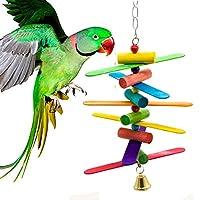 鳥ペット ペットおもちゃ インコ はしご オウムおもちゃ ケージ飾り 吊下げタイプ玩具