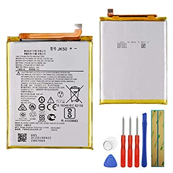 Replacement Battery JK50 Compatible with Moto G7 Power XT1955 Moto One Power XT1942 with Tools