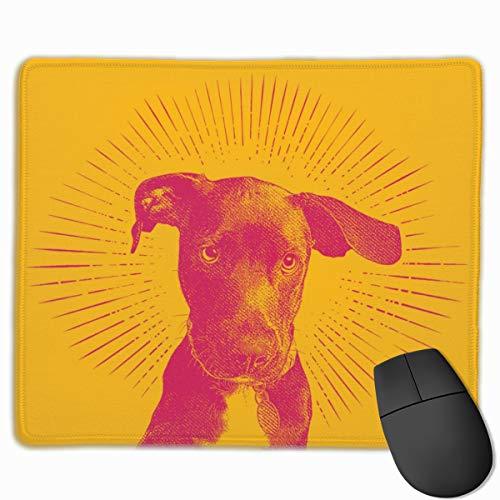 Preisvergleich Produktbild Labrador retriever-Welpen-ergonomisches Spiel-Büro-Mausunterlage-Matte Mousepad