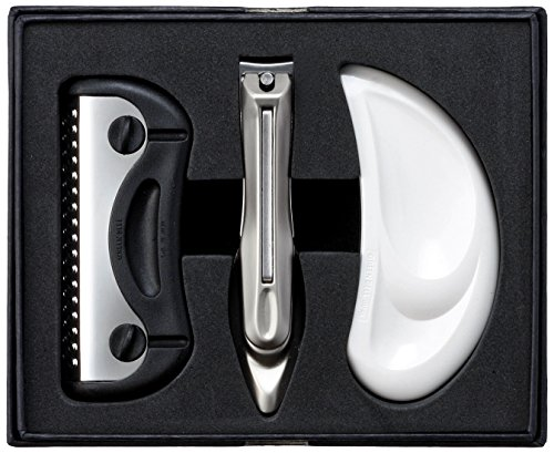 Seki Edge Craftsman 3-piece Grooming Kit (G-3111),nail Clipper by Green Bell
