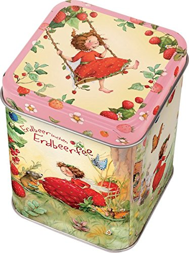 Erdbeerinchen Erdbeerfee. Metalldose (klein)