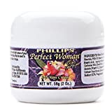 Perfect Woman Bioidentical Natural Progesterone Cream Extra Strength 10% 2 Oz.