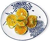 MYPNB Tazón Placa de Frutas, Creativo japonés Sushi vajilla, Placa de cerámica del Desayuno, Placa de Ensalada, Western Restaurante Steak Plate, Hotel Restaurante la Placa de Postre (Color : One)