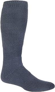 Heat Holders - Mens Extra Long Winter Warm Coloured Knee High Thermal Socks