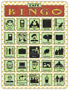 Be super welcome Knock Bingo Fun 12 Unique 6.5