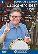 Bluegrass Banjo Licks-ercises #1 Scruggs Style