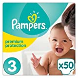 Pampers New Baby Taille 3Essential Lot de 50couches