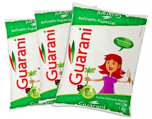 weisser Rohrzucker Guarani 3 x 1kg
