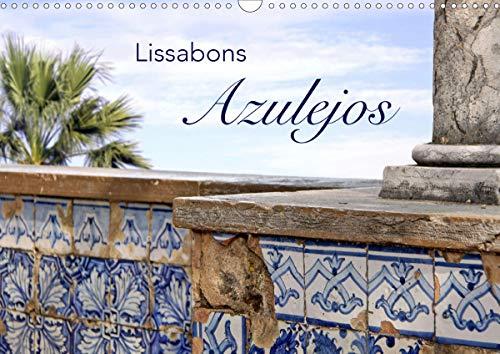 Lissabons Azulejos (Wandkalender 2021 DIN A3 quer)
