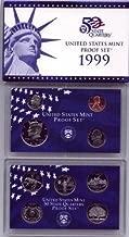 1999 thru 2009 US Proof Sets - 11 Set Combo Deal