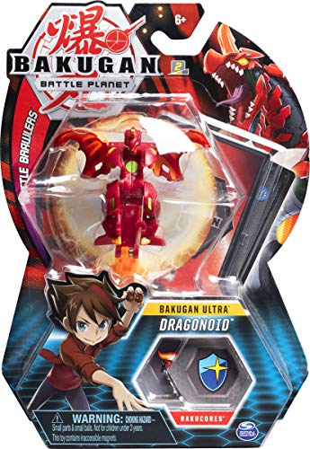 BAKUGAN SPINMASTER Battle Planet – Dragonoid – 8cm Ultra Actionfigur & Trading Card