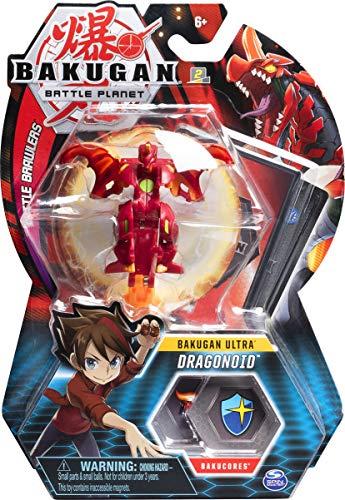 Spin Master Bakugan Ultra, Bakugan Dragonoid, 3-inch Collectible Transforming Action Figure