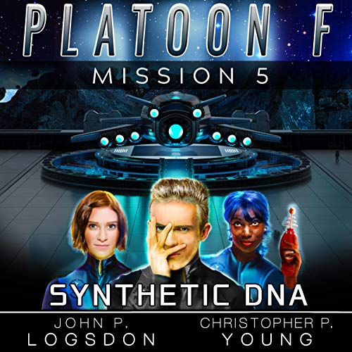 Synthetic DNA audiobook cover art