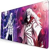 Naruto Anime Mouse Pad, Mousepad rutschfest,XXL Tastatur pad, Professionelle Gamer Mauspad für 900x400x3mm-Multi_900x400x3MM