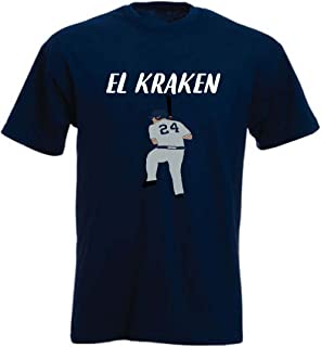 Navy New York Sanchez El Kraken T-Shirt