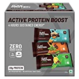 Active Assorted Bars 414g Pack of 6 (Choco Slim (67g x 2) Green Coffee Beans (70g X 2) & Green Tea Orange(70g x 2))