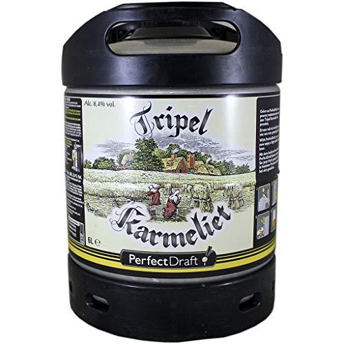 Fût 6L Perfectdraft - 5 euros de consigne inclus - Fût pour tireuse à bière (Tripel Karmeliet)