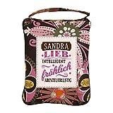 History & Heraldry Einkaufstasche Top Lady Sandra, One Size, Mehrfarbig