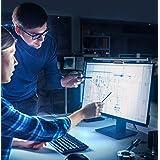 モニター掛け式ライト 電子読書LED LEDライト クリップ式 目に優しい 三段階調光 角度調節可能 USB電源 スペース節約 PC作業/仕事/寝室/卓上/読書/譜面台/ピアノ/オーケストラピットに対応