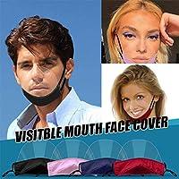 PANGHU 5 x per il viso in plastica protettiva di sicurezza in plexiglass protettiva trasparente per la bocca in plastica #4