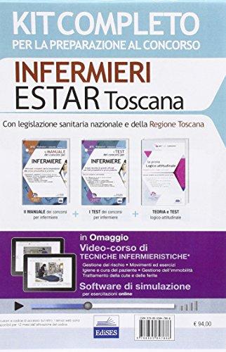 Concorso Infermieri Estar Toscana. Kit completo per tutte le prove del concorso 2016