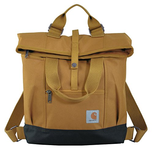 Carhartt Womens Backpack Hybrid Bags, Brown, OFA