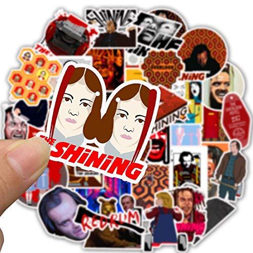WYZN 50 pz The Shining Sticker Personalità Creativo Fai da te Bambini Scrapbook Decorazione Notebook Computer Impermeabile Scooter Vinile Adulti Giovani Vsco Graffiti Sticker Decal