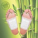 MR Goods Bambus Fußpflaster zur nächtlichen Anwendung- 10 Vitalpflaster Foot Pads für 5 Nächte mit Bambuspflaster für Ihre Wellness – Das Foot Pads Erfolgsprodukt zur Erholung und...