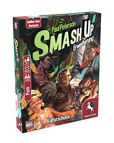 Pegasus Spiele 17284G - Smash Up: Kulturschock