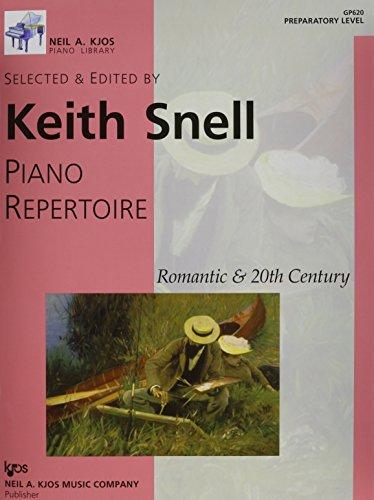 GP620 - Piano Repertoire - Romantic & 20th Century - Preparatory Level